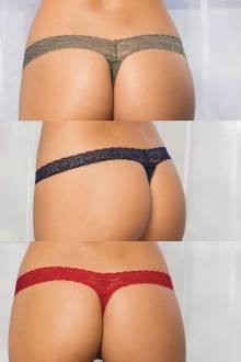 Trío de Brasileras Victoria - Solid